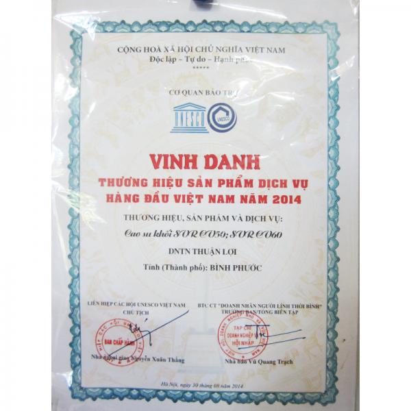 Thương hiệu sản phẩm dịch vụ hàng đầu Việt Nam